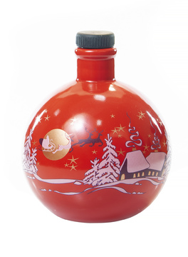 "Bottle ""Christmas tree toy"""