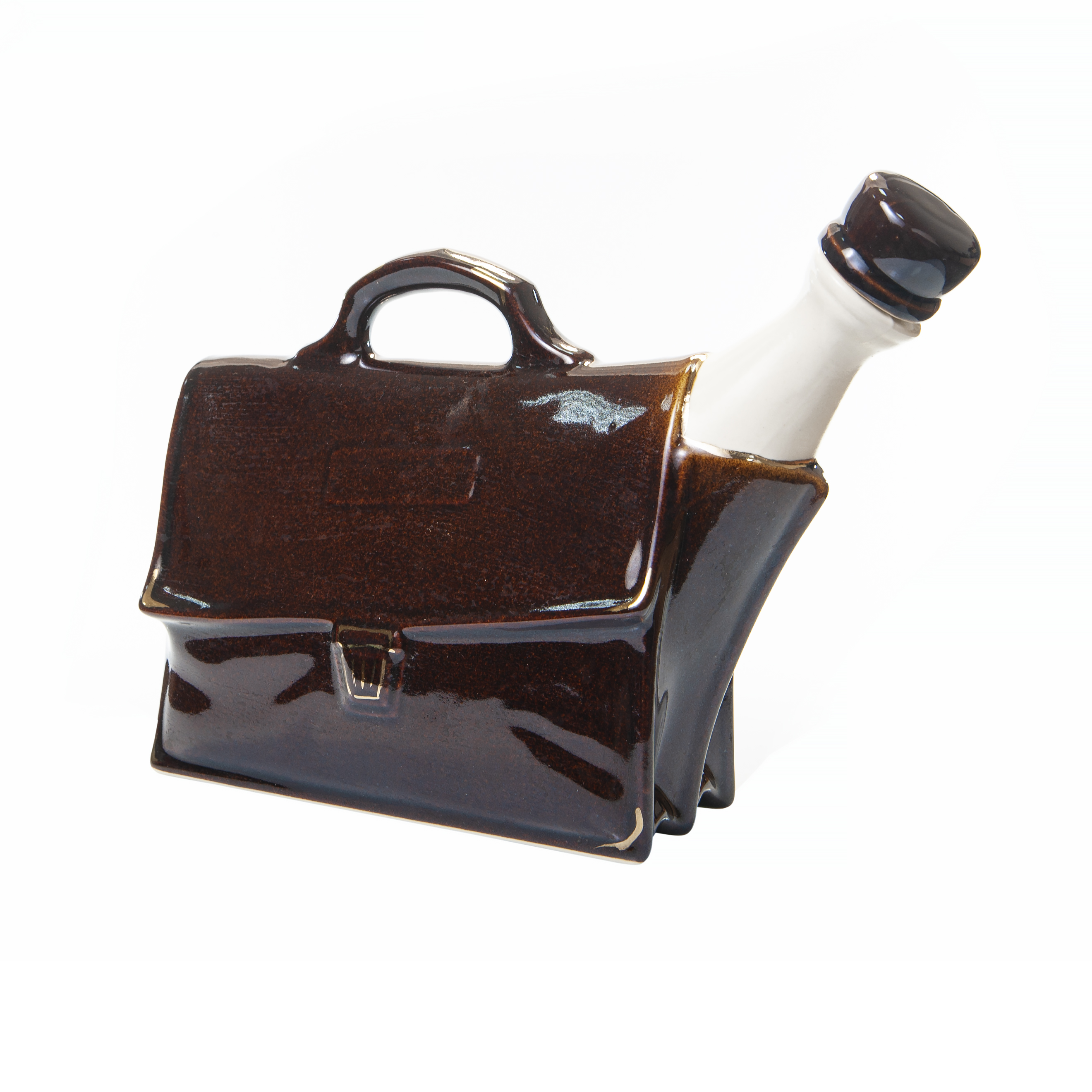 Buy ceramic BOTTLE FOR VODKA «BRIEFCASE» photo 1